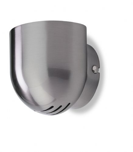 Firstlight 5070BS Brushed Steel Gino Wall Light
